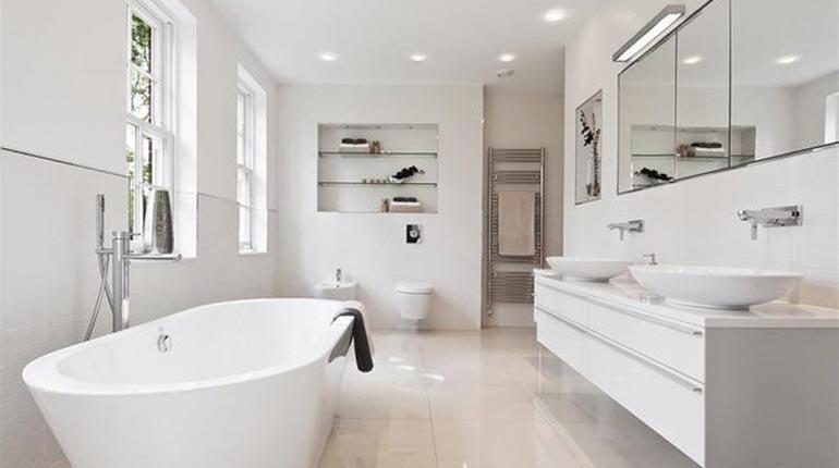 baños blancos