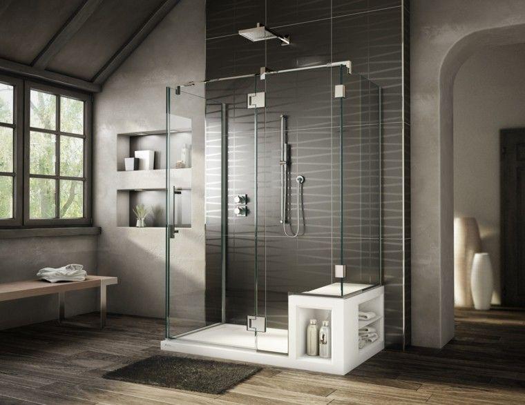 baños con tonos oscuros