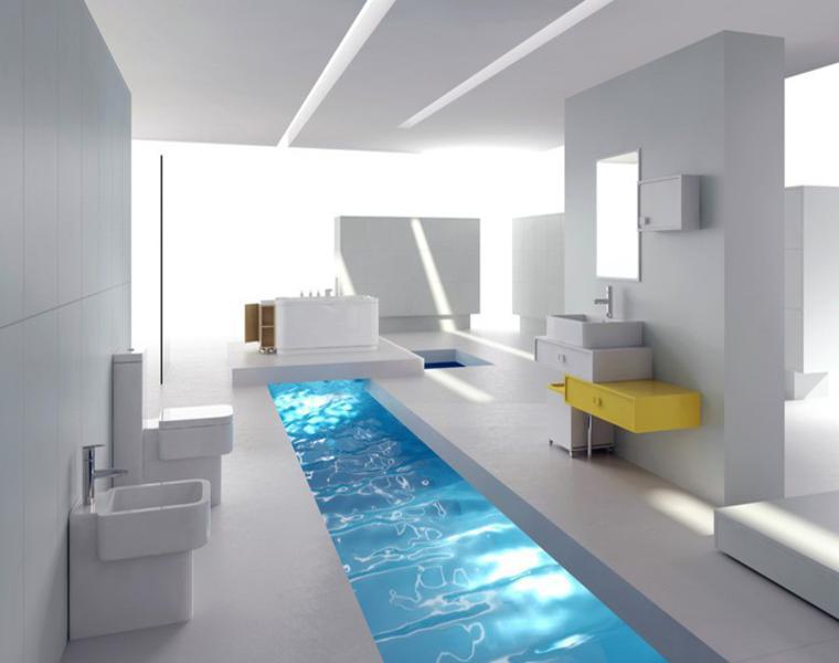 Decoración espectacular para tu hogar - baño