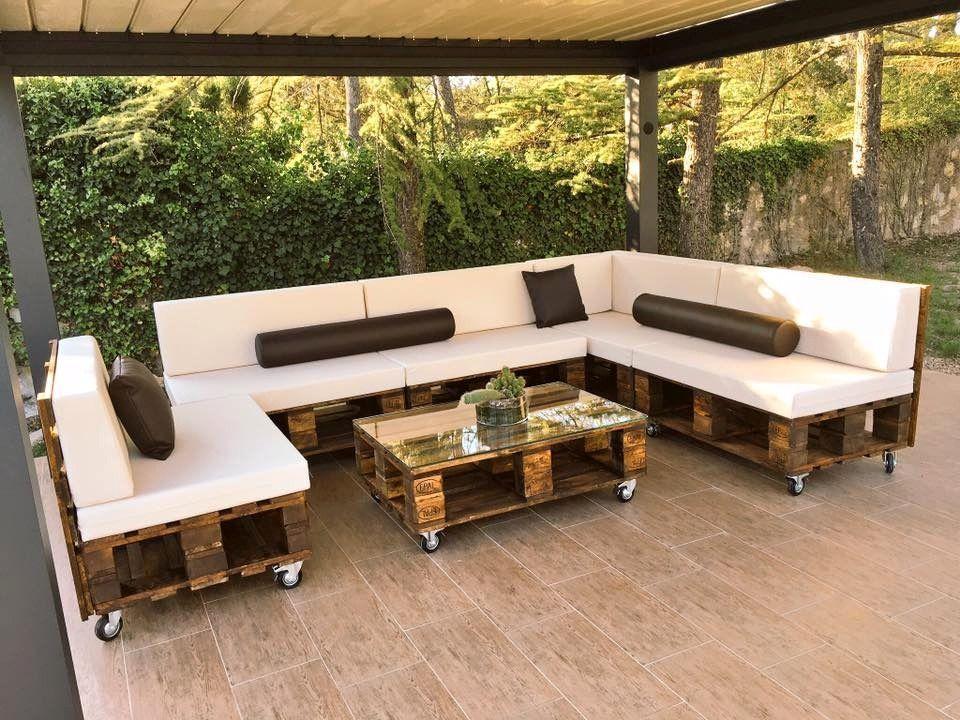 Crea tu propio mobiliario de jardín