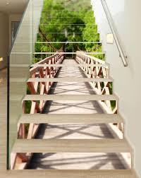 vinilo para escaleras - puente