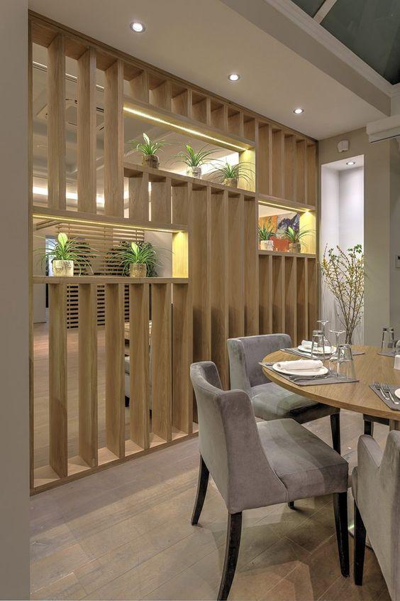 Decoración de interiores con separadores de ambiente (3)