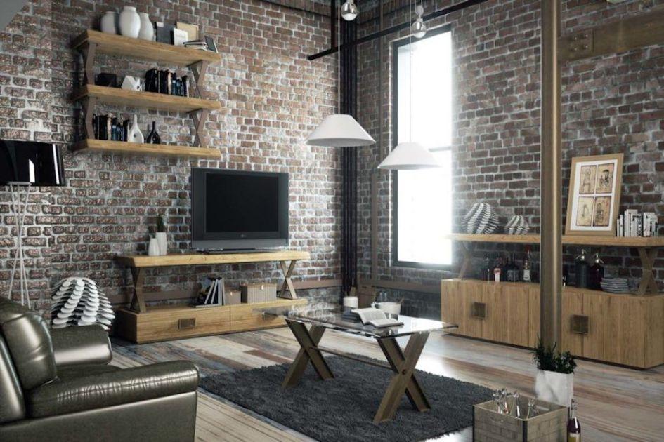 Los 3 estilos más importantes para la decoración - industrial salón