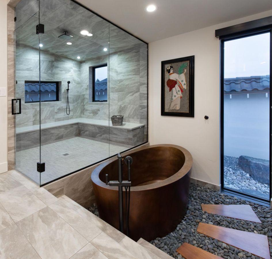 Reforma y decoración de un baño grande (13)