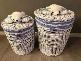 cestos de mimbre 9 - bebes