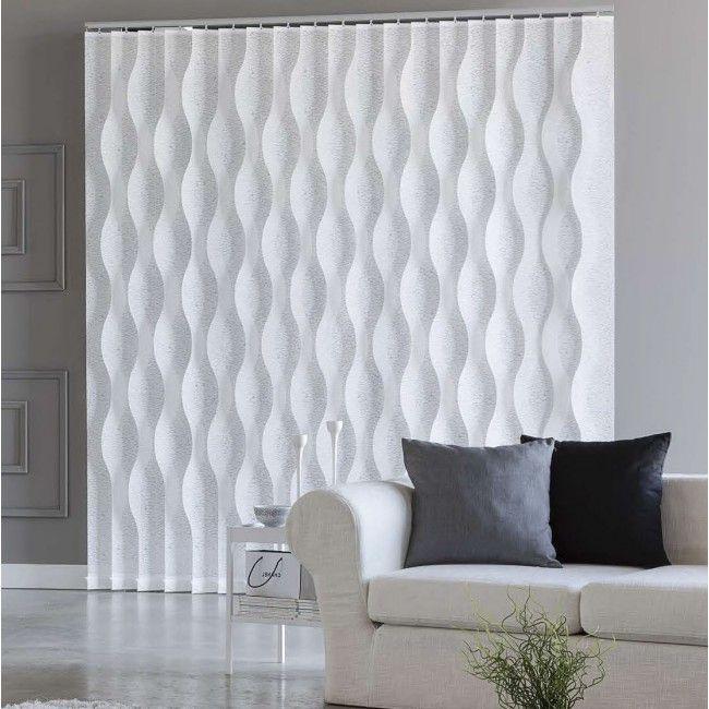 cortina de lamas onduladas
