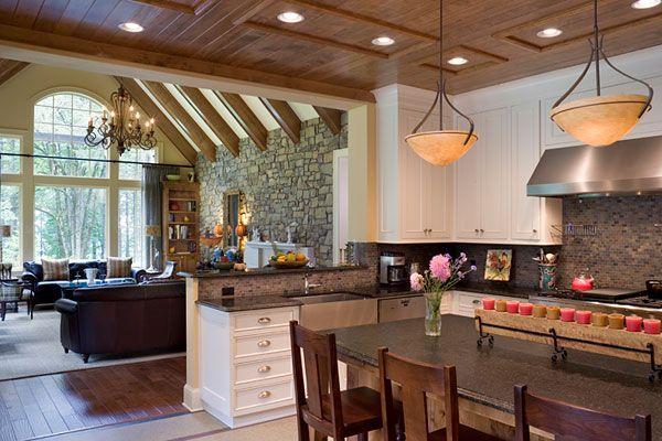 11 Reformas y decoraciones de cocinas abiertas (7)
