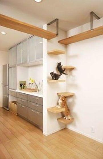 Ideas DIY para crear espacios para gatos (1)
