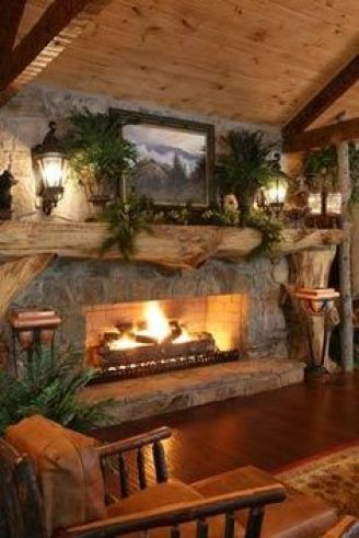 decoración para casas de madera (2)