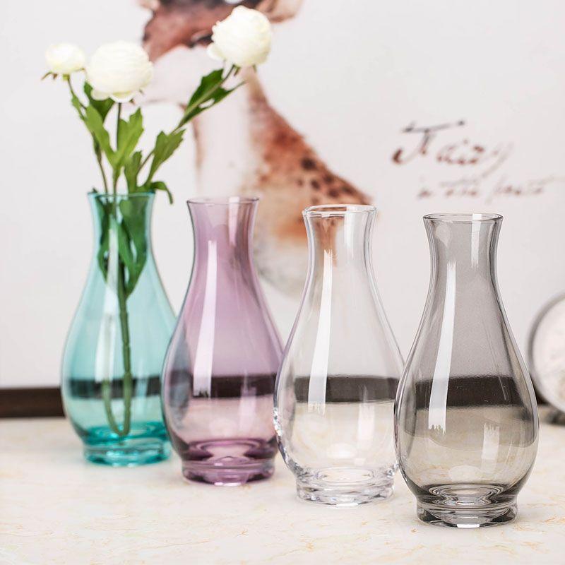 Decoración con jarrones de cristal (1)