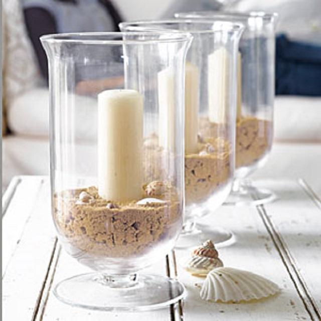 Decoración con jarrones de cristal (10)