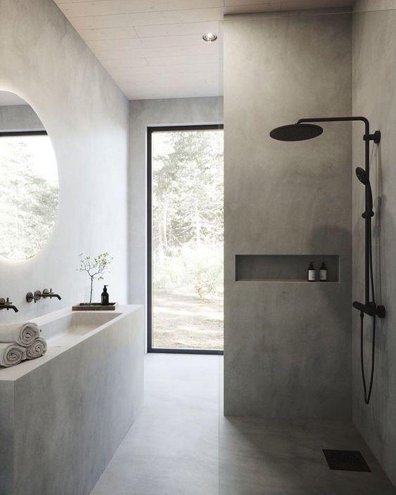 Decoración del hogar con cemento y hormigón (1)