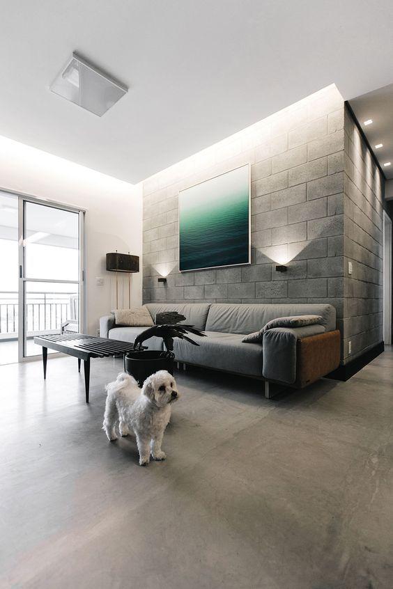 Decoración del hogar con cemento y hormigón (4)