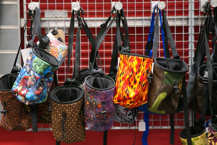 Chalk bags at IME