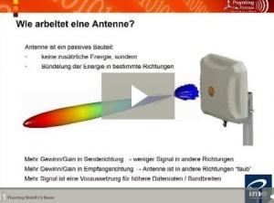 Screenshot Antennenlehrgang