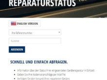 ime mobile Reparatur-Status