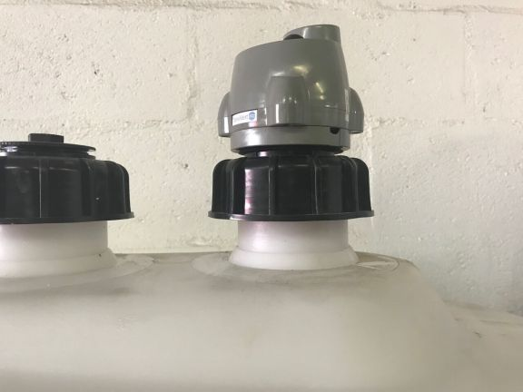 LoRaWAN Level Sensor auf Tank