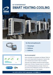 Datenblatt Vorschaubild ITalks Starterpaket Smart Heating-Cooling