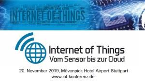 IoT Konferenz 2019 Stuttgart