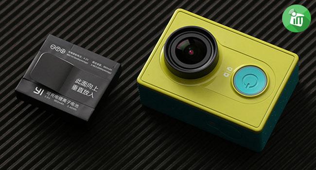 AZ13-1 -XiaoMi- Yi -Action- Camera- 960mAh -Li-ion- Back-up -Battery (3)