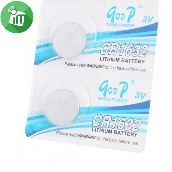 qoop Lithium Ion Battery CR1632 3V (2)