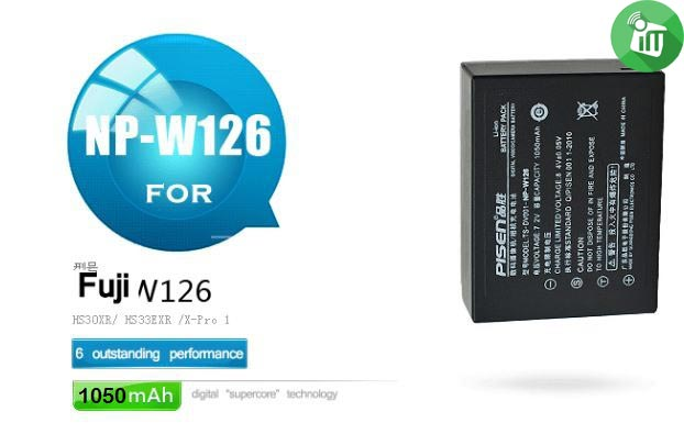 Pisen NP-W126 Camera Battery Charger for Fuji (4)