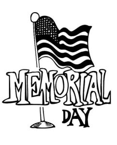 Memorial Day Coloring Pages Printable