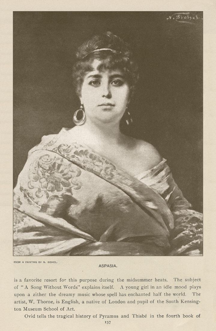 Aspasia, Nathaniel Sichel