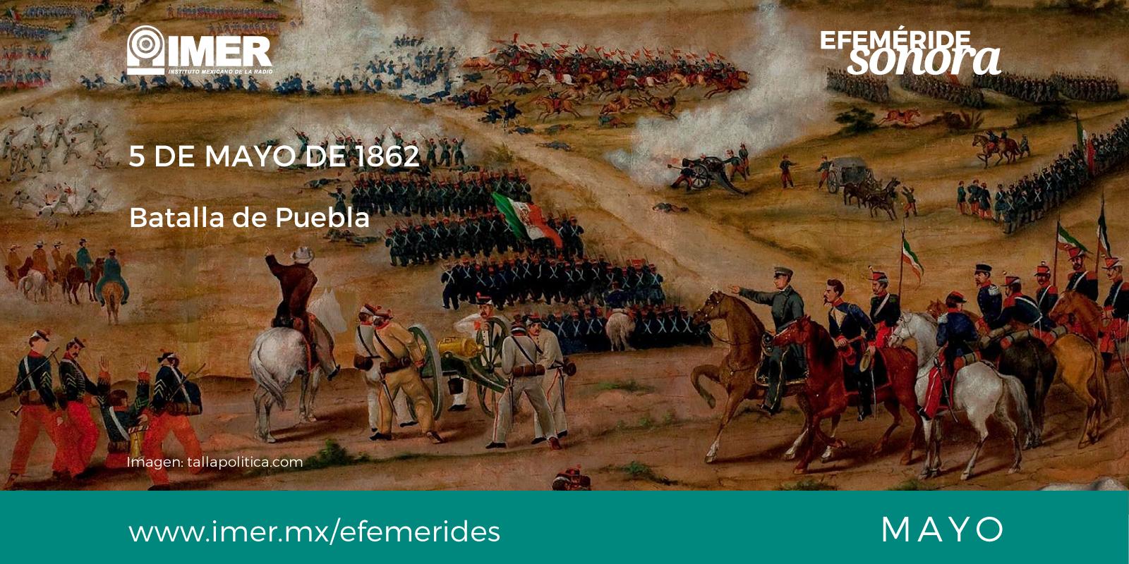 5 De Mayo De Batalla De Puebla Imer