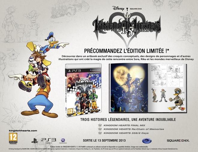Le point sur - Kingdom Hearts I.5 HD ReMIX - édition limitée