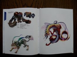 Artbook - monstres