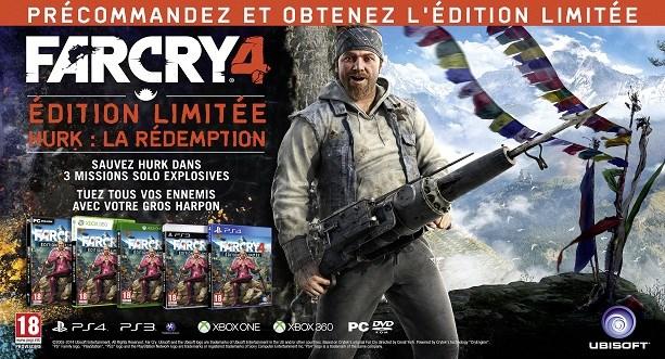 Actualité - Far Cry 4 - nouvelles informations - Limited Edition