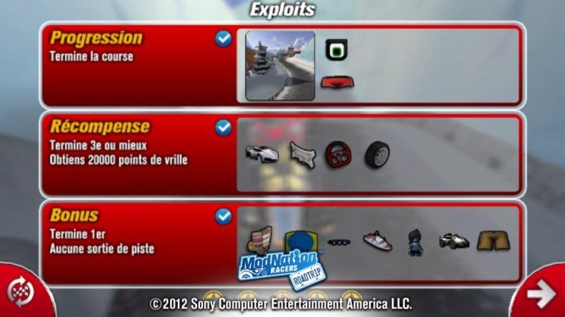 Test - Modnation Racers Road Trip - diversité et modes de jeu