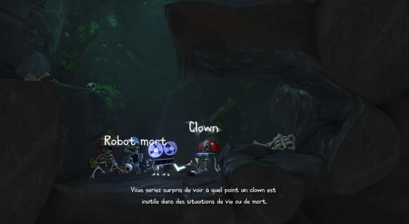Test - The Cave - graphismes et animations