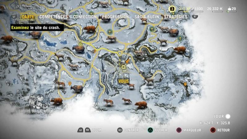 Une nouvelle carte