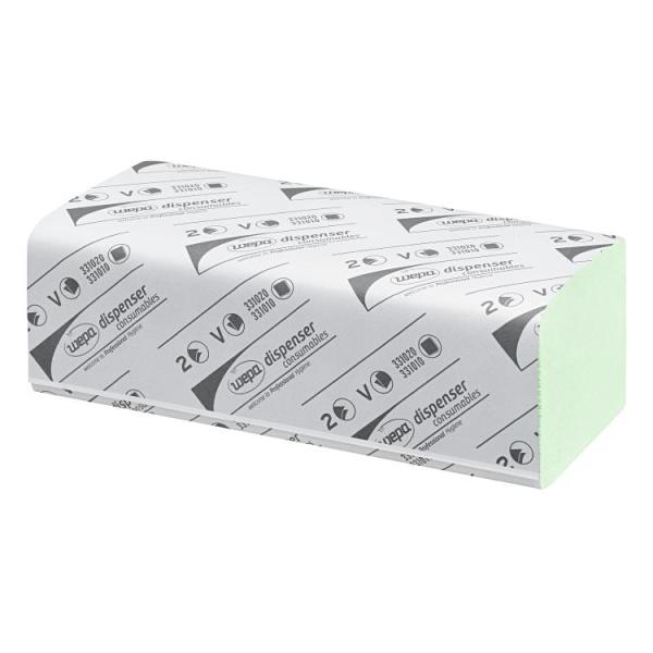 Papierfalthandtuch, recycletem, 2-lagig