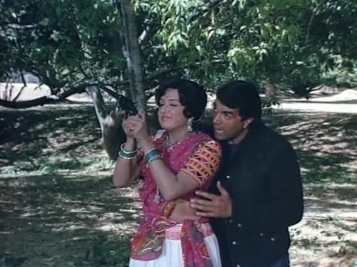 Image result for veeru basanti gun
