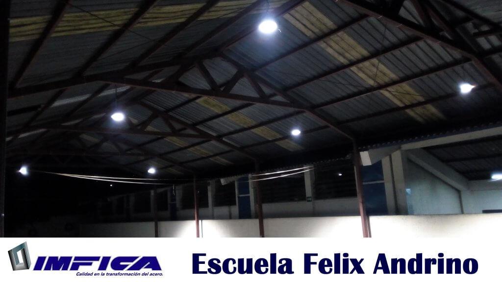 IMFICA, ilumina escuelas en Guatemala.