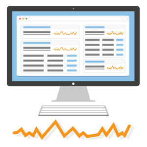 Google Analytics KPIs Dashboard