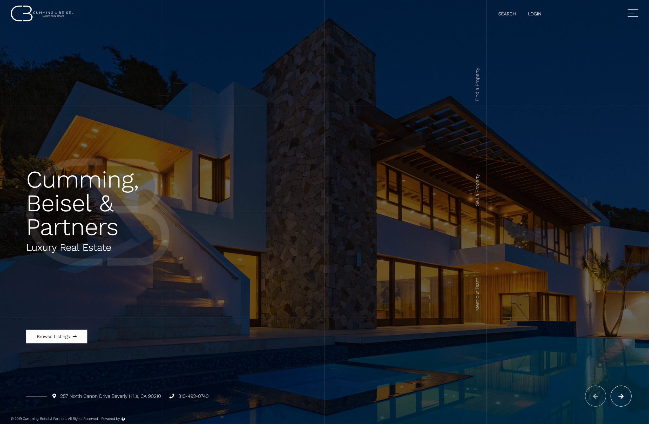 Cumming & Beisel Luxury Real Estate - A Custom Real Estate WordPress Website by imFORZA