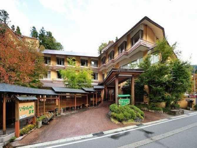 【谷川温泉 旅館たにがわ】の外観