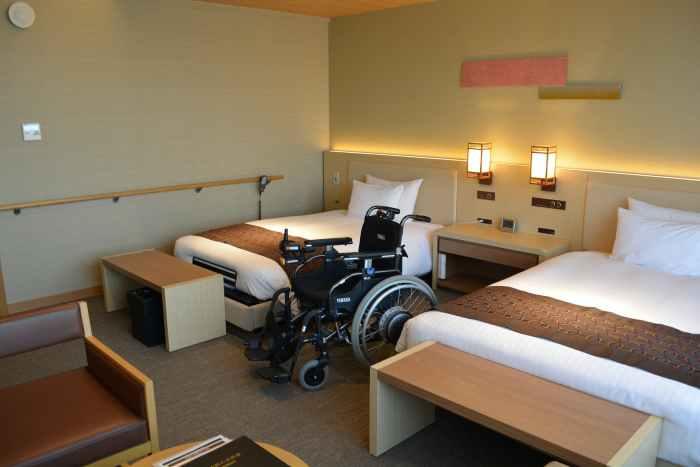 彩の庭ホテル バリアフリールーム