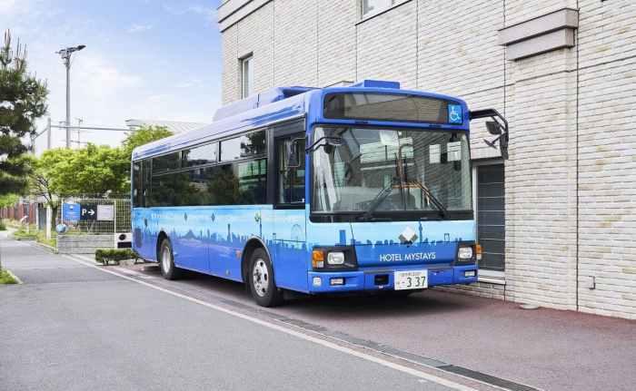 マイステイズ新浦安コンファレンスセンターの東京ディズニーリゾートへのシャトルバス