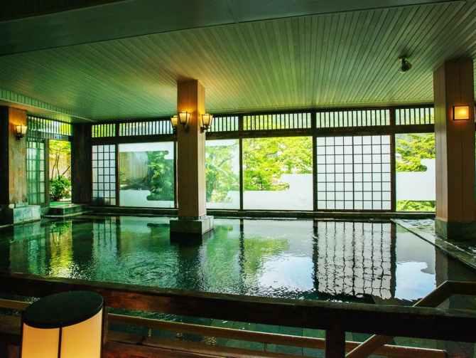 【鬼怒川パークホテルズ】大浴場