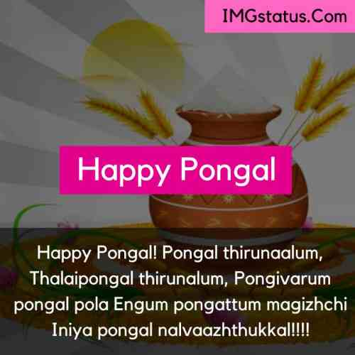 Happy Pongal Tamil Images