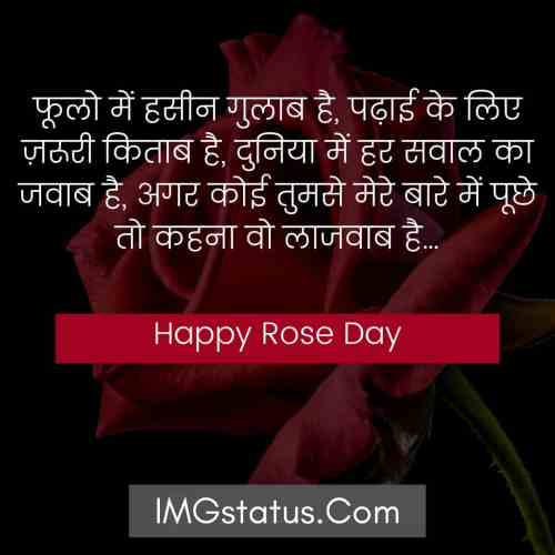Happy Rose Day Hindi Images
