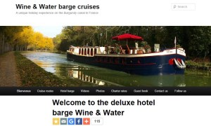 Wine & Water hotel barge