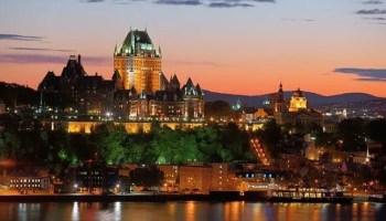Cidade de Quebec no Canadá. Foco da Missão de Recrutamento da Québec en Tête