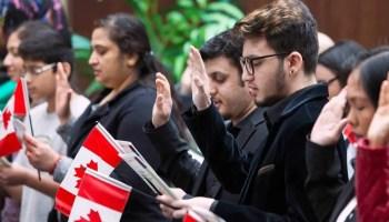 Cerimônia de Cidadania Canadense e Exame