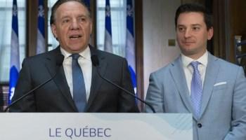 Primeiro Ministro do Quebec, Legault Sobre o PEQ